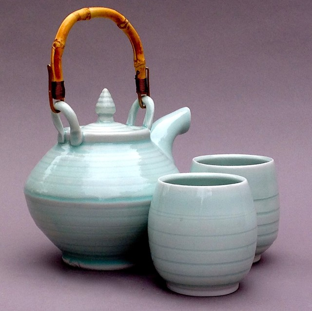 Blue Shadow teapot